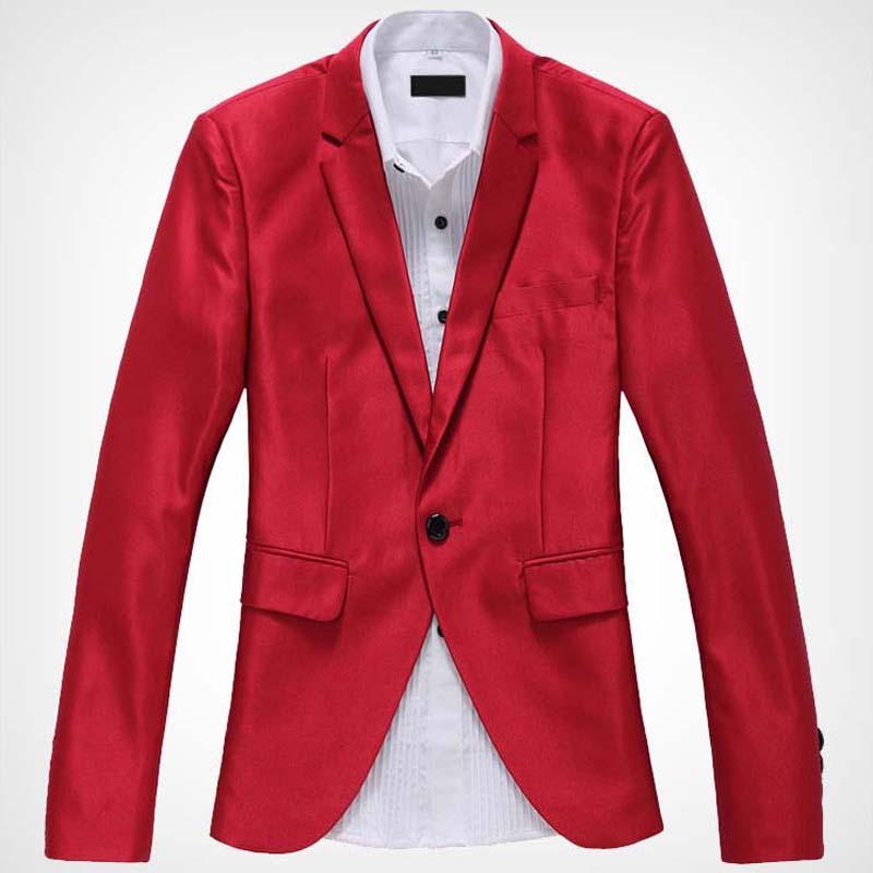 Red Blazer Jacket - Trendy Clothes