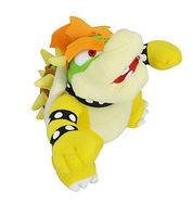 RARE Super Mario Bros Brothers King Koopa Bowser 10 inch Plush Toy