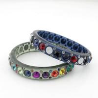 2014 rushed new women trendy other the spot [min 15usd]_ aug new!! fashion jewelry acrylic bracelet female bohemia  ef