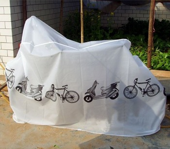 Bicycle cover thickened own electric car electric bike motorcycle jacket rain cover dust cover anti-dust cover