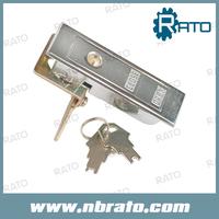 Bright Chrome Plating ZDC Lock body, Zinc-plating Cam Push Handle Lock