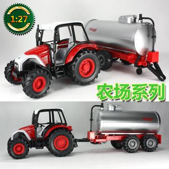 Etam tractor water pot car tank car trailer toy car model car toy car
