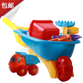 Sand toy set beach toy car Large atv puzzle toy
