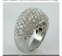 100% new 14K  3.75 CT  VS2/G WEDDING ANNIVERSARY RING