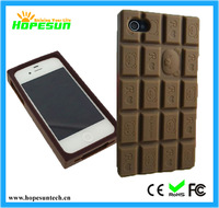 fancy cell phone cases  animal silicone phone case 3d chocolate  design