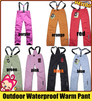 2013 Wholesales Woman Outdoor Pant,Waterproof,Keep Warm,breathable,wearable Pant. Fashion,colorful Pant
