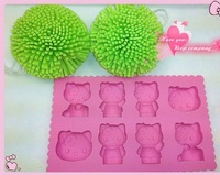 1pc Cute Lovely Hello Kitty Body Ice Tray Mold Maker Party Mould
