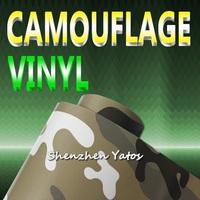 Camouflage Skin Car Sticker Vinyl Air Bubble 15.2*30M