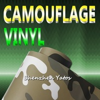 Camouflage Skin Car Sticker Vinyl Air Bubble 15.2*30M