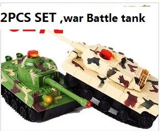 SALE! 2pcs set ; kids boy toy war Battle tank rc toy High simulation big size ,pay with friend ,Simulated combat , Luxury gift(China (Mainland))