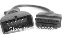 GM Daewoo 12 Pin 12Pin Male to OBD OBD2 OBDII DLC 16 Pin