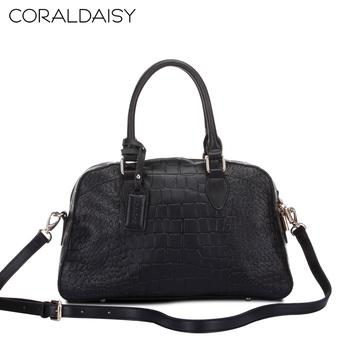 Coraldaisy  New  2013  Crocodile Grain Fashion  Totes Handbag European&American Style Satchel Women Messenger Bag