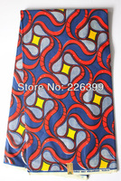 100% cotton African Hollandais wax print fabric for party,ankara wax fabric,free shipping by DHL,6 yards/piece,H3134