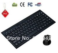 Free Shipping Cheap 2.4G Ergonomic Fortable Wireless Keyboard and Mouse Combo