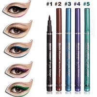 free shipping Music flower multicolour eyeliner liquid pen waterproof m2013