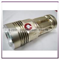 Free shipping Brand NEW High Power 6500 Lumens 4x CREE XM-L T6  LED Flashlight Torch lamp light 4 x 18650