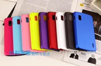 Colorful Matte Hard Plastic Case for LG Optimus Nexus 4 E960 Cases, Cell Phone Cases, Free Shipping!