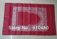 free shipping!!  pocket prayer mat with compass Muslim Worship Blanket Praying Mat Rugs