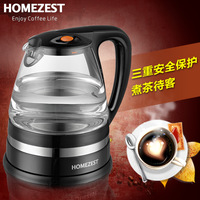 Homezestt-819f kettle household glass kettle hemisphere electric teapot automatic