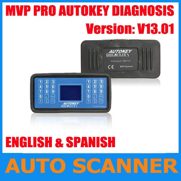 2013 New Release v13.01 auto key code reader clearance Mvp key programmer MPV MVP programmer universal key programmer(China (Mainland))