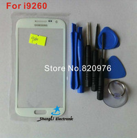 Free Shipping For Samsung Galaxy Premie i9260 9260 Original Lcd Touch Digitizer Top Replacement Glass White+Tools