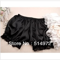 Best selling!5pcs/lot woman shorts lace side safety pants bloomers basic short for ladies Free Shipping