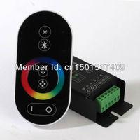 Rf controller+ remote receiver 288W DC12-24V RGB led strip lighting RF RGB LED Controller Free Shipping