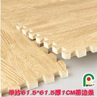 Eco-friendly eva61.5 intergards 61.5 child mats crawling mat belt - wood