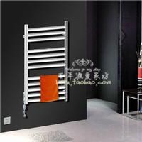 TR-11 145W stainless steel oval tube electric towel rack , Heated towel rack /rail