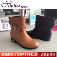 Smarten 2012 comfortable genuine leather boots 24264082