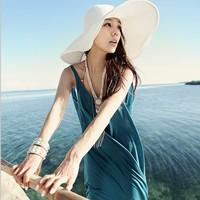 free shipping Bohemia full dress racerback dress beach bikini outside shirt dress