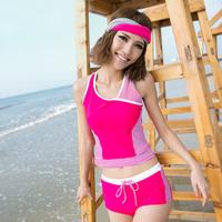 free shipping 2013 hot spring swimwear sports split swimsuit women's swimwear