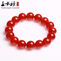 Jade water natural red agate bracelet national trend accessories crystal bracelets apotropaic