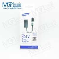 Universal Samsung Galaxy Micro USB MHL to HDMI Adapter for S2 S3 S4 i9500 i9308 i9100 i9220 Hot