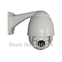 H.264 Outdoor waterproof 680TVL 10x Optical Zoom mini IR speed dome PTZ camera, Security ir ptz CCTV Camera