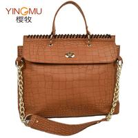 2013 spring and summer fashion new arrival chain bag stone pattern women's one shoulder handbag cross-body women's handbag