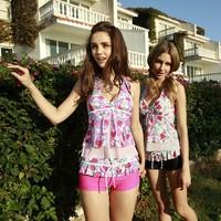 free shipping 2012 split hot spring female swimwear Women