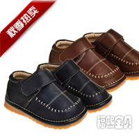 Sheep baby boy child male genuine leather liner cow muscle outsole high quality leather