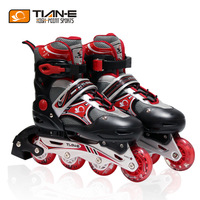 Girls skating shoes straight inline speed  roller skates adult roller blade shoes set  flash wheel boys rollerblade ice skates