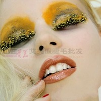 Hot Sale False Eyelashes Set Extension Makeup Natural Long Thick Eyelashes Fancy Ball Art Party Show Free Shipping RB7- 175