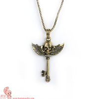 Cheapest Price! Free Shipping Necklace Pendant,A Variety of Styles Skull,anti-war,cross bones, love, wings Necklace
