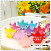 Children Girl Crown Shape Plastic Hair Claw,Kids Hair Clips,Children Hair Accessories,FJ064+Free Shipping
