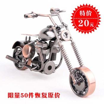 FREE P&P>> Handmade home decoration motorcycle fashion modern furniture accessories decoration souvenir