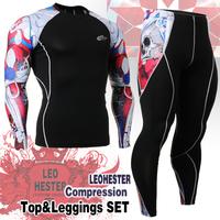 Leo pro straitest quick-drying t-shirt fitness clothing compression clothing basic shirt Cpd set _ _ 19 r sport clothing