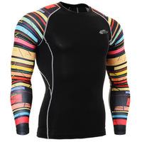 Leo pro straitest quick-drying t-shirt fitness clothing compression clothing basic shirt cpd-b33