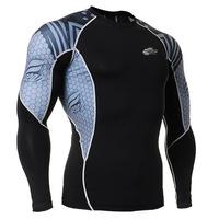 Leo pro straitest quick-drying t-shirt fitness clothing compression clothing basic shirt c2l-b41