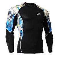 Leo pro straitest quick-drying t-shirt fitness clothing compression clothing basic shirt c2l-b19b