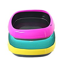 Large egg-shaped litter box, color random
