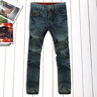 Free Shipping Leisure And Casual Pants new 2013 Style TOP Brand Cotton Men's Jeans Trousers Straight Leg Size:28~34 JCK KU14