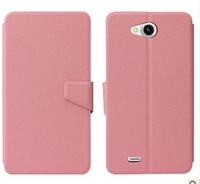 In Stock zopo c3 leather case with free screen protector film for zopo C3 freeshipping